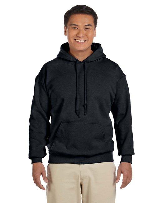 Gildan Adult Heavy Blend 8 oz., 50/50 Hood - Black