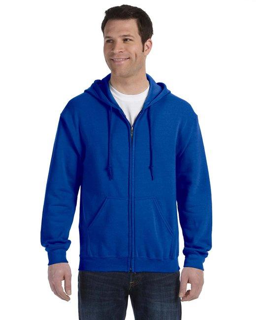 Gildan Adult Heavy Blend Adult 8 oz., 50/50 Full-Zip Hood - Royal