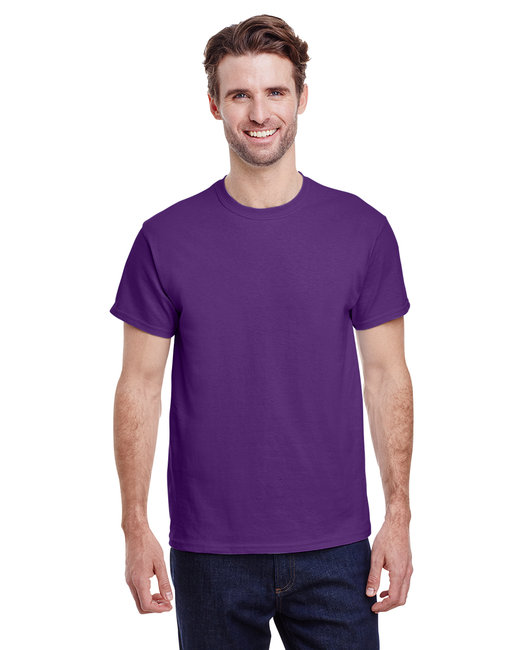 Gildan Adult Ultra Cotton 6 oz. T-Shirt - Purple
