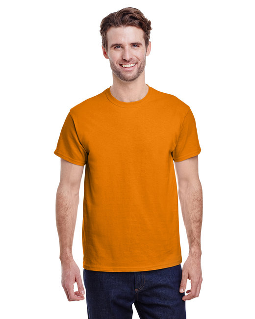 Gildan Adult Ultra Cotton 6 oz. T-Shirt - S Orange
