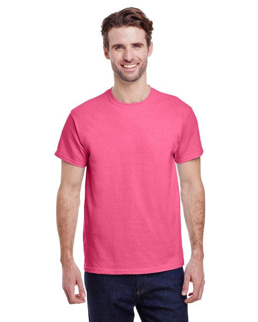 Gildan Adult Ultra Cotton 6 oz. T-Shirt - Safety Pink