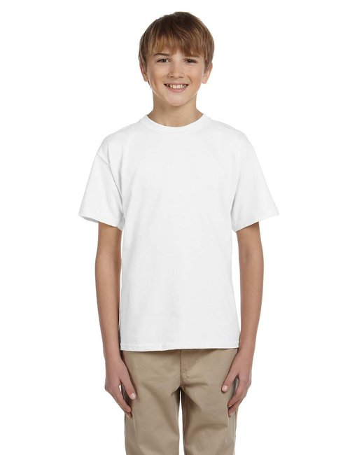 Gildan Youth Ultra Cotton 6 oz. T-Shirt - White