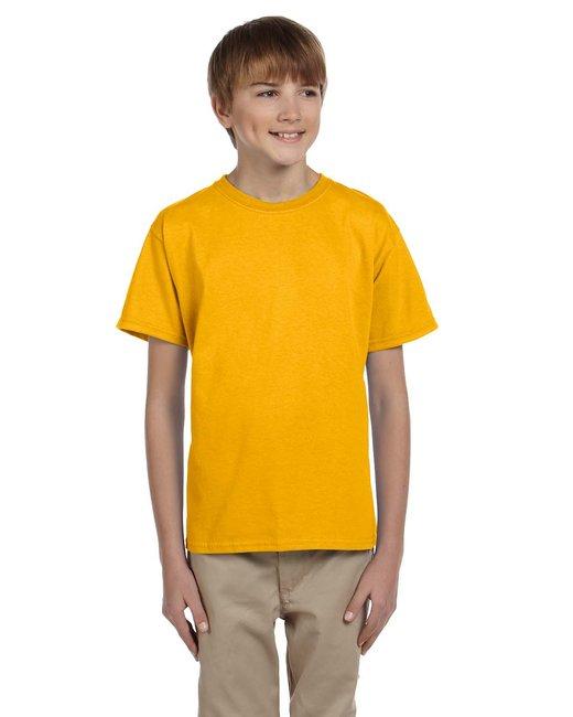 Gildan Youth Ultra Cotton 6 oz. T-Shirt - Gold