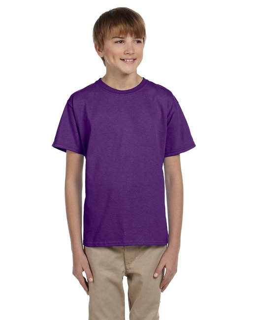 Gildan Youth Ultra Cotton 6 oz. T-Shirt - Purple