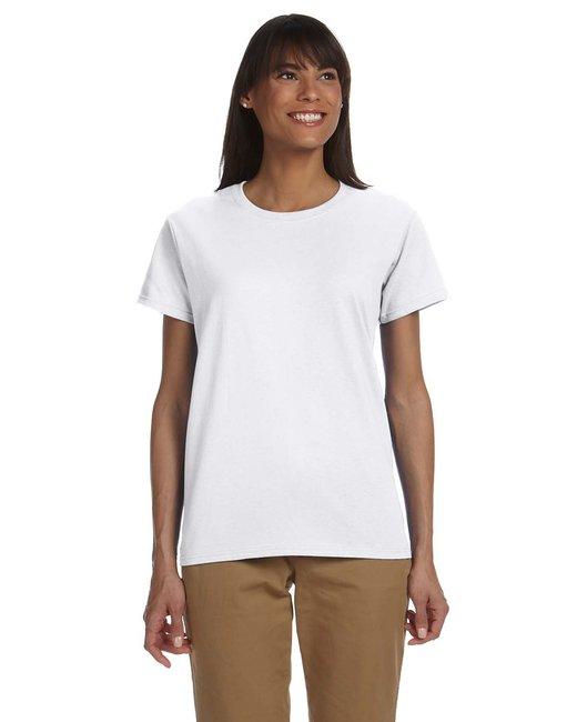 Gildan Ladies' Ultra Cotton 6 oz. T-Shirt - White