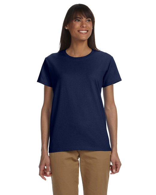 Gildan Ladies' Ultra Cotton 6 oz. T-Shirt - Navy