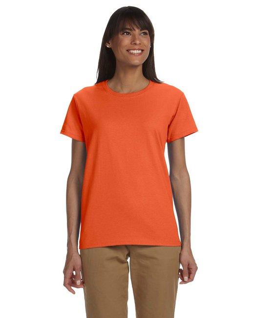 Gildan Ladies' Ultra Cotton 6 oz. T-Shirt - Orange