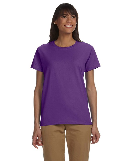 Gildan Ladies' Ultra Cotton 6 oz. T-Shirt - Purple