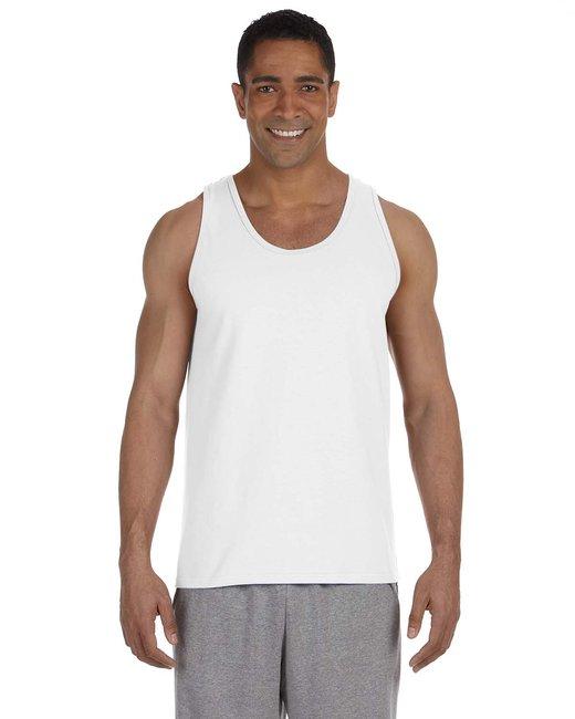 Gildan Adult Ultra Cotton 6 oz. Tank - White