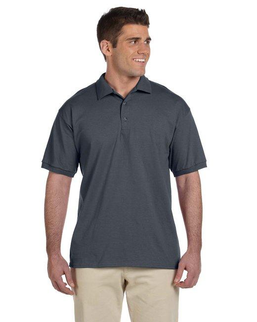 Gildan Adult Ultra Cotton® Adult 6 oz. Jersey Polo - Charcoal
