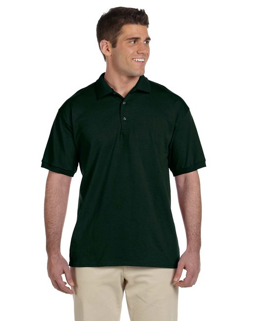 Gildan Adult Ultra Cotton® Adult 6 oz. Jersey Polo - Forest Green