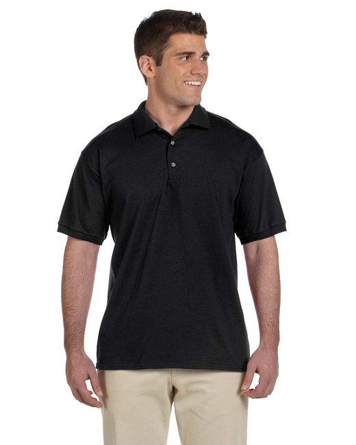 Gildan Adult Ultra Cotton® Adult 6 oz. Jersey Polo - Black