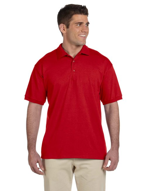 Gildan Adult Ultra Cotton Adult 6 oz. Jersey Polo - Red