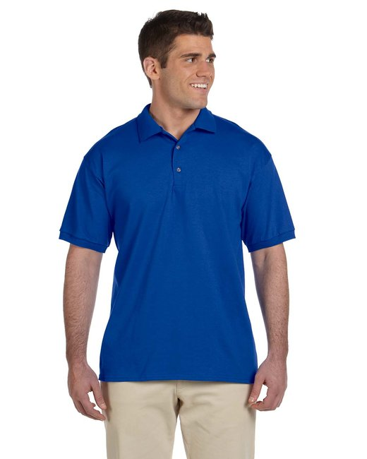 Gildan Adult Ultra Cotton Adult 6 oz. Jersey Polo - Royal