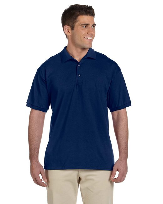 Gildan Adult Ultra Cotton Adult 6 oz. Jersey Polo - Navy