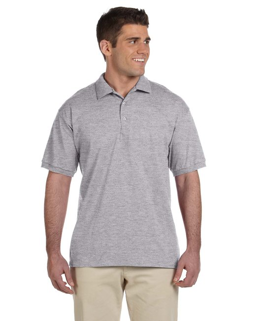 Gildan Adult Ultra Cotton® Adult 6 oz. Jersey Polo - Sport Grey