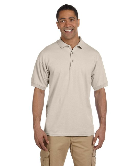 Gildan Adult Ultra Cotton® Adult 6.3 oz. Piqué Polo - Sand