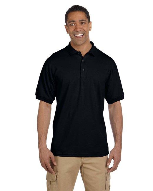 Gildan Adult Ultra Cotton® Adult 6.3 oz. Piqué Polo - Black