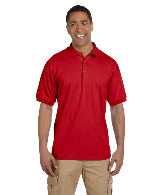 Gildan Adult Ultra Cotton® Adult 6.3 oz. Piqué Polo - Red