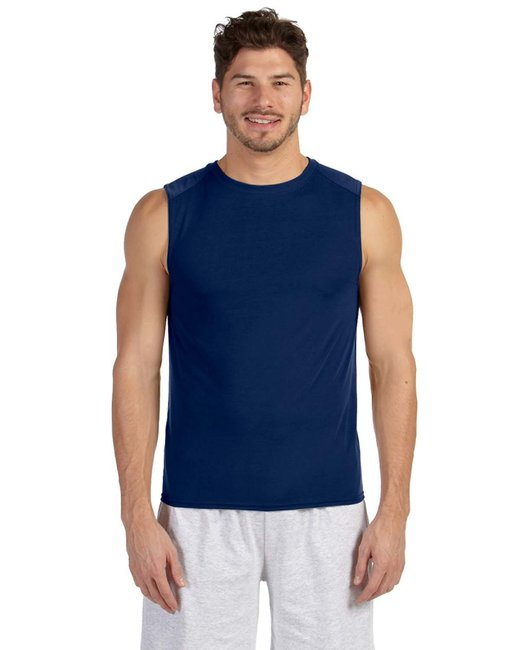 Gildan ADULT Performance Adult Sleeveless T-Shirt - Navy