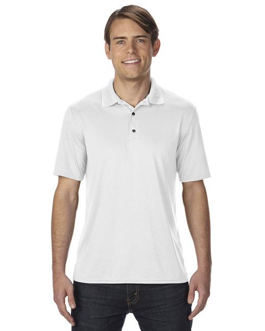 Gildan Adult Performance 4.7 oz. Jersey Polo - White