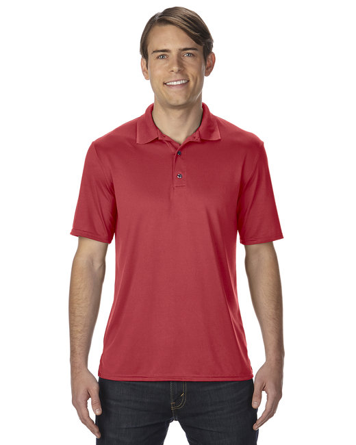 Gildan Adult Performance 4.7 oz. Jersey Polo - Red