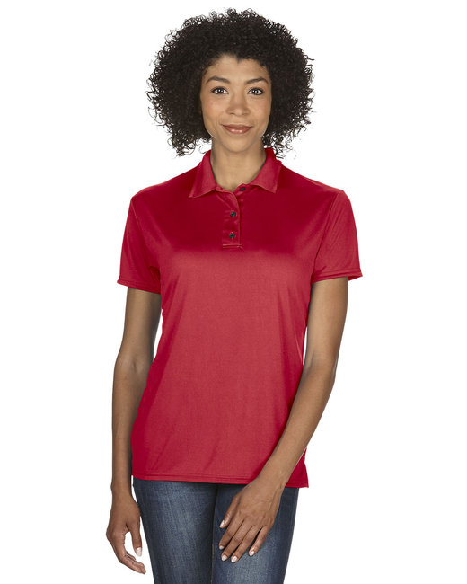 Gildan Ladies' Performance® 4.7 oz. Jersey Polo - Red