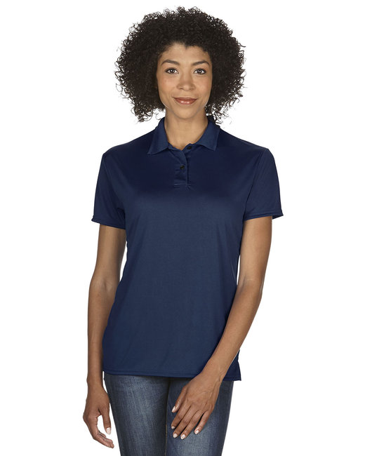 Gildan Ladies' Performance® 4.7 oz. Jersey Polo - Marble Navy