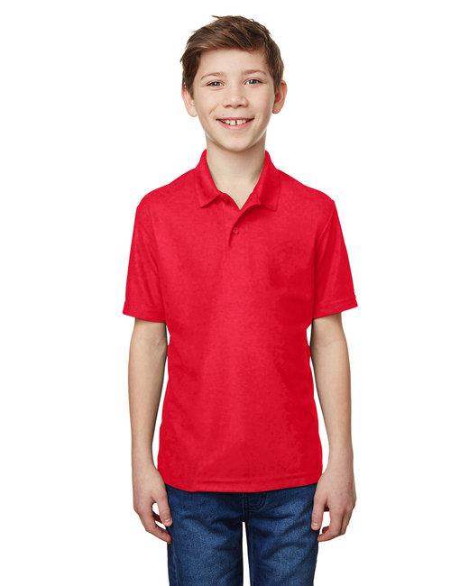 Gildan Performance Youth 5.6 oz. Double Pique Polo - Red