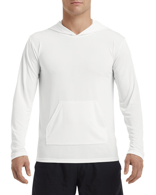 Gildan ADULT Performance Adult HoodedT-Shirt - White