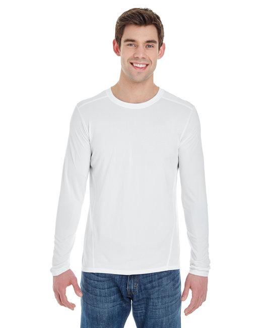 Gildan Adult Performance Adult 4.7 oz. Long-Sleeve Tech T-Shirt - White