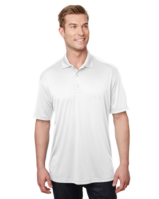 Gildan Performance Adult Jersey Polo - White