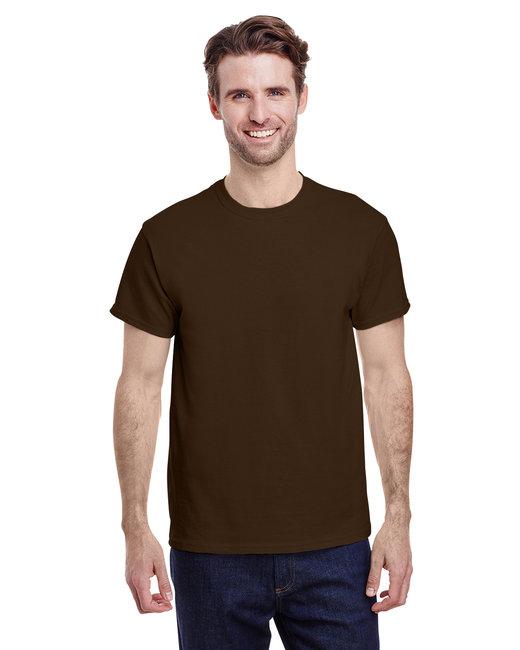 Gildan Adult  Heavy Cotton 5.3oz. T-Shirt - Dark Chocolate