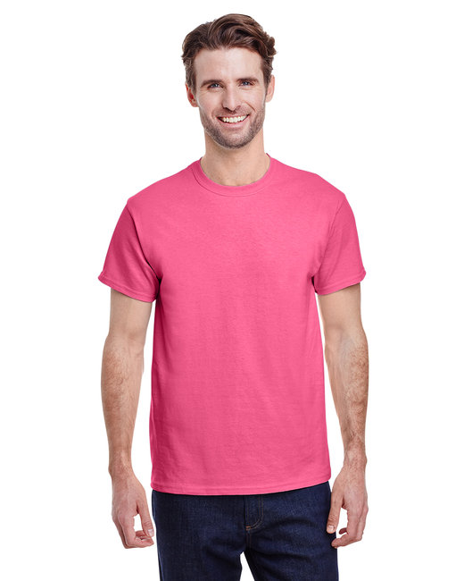 Gildan Adult  Heavy Cotton 5.3oz. T-Shirt - Safety Pink