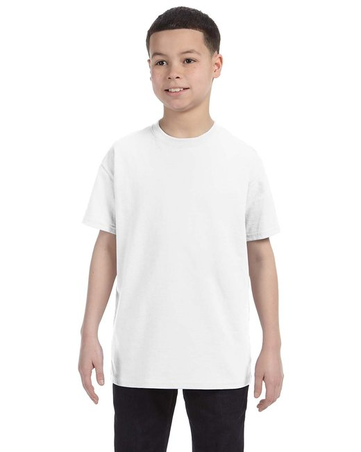 Gildan Youth  Heavy Cotton 5.3oz. T-Shirt - White