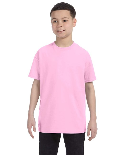 Gildan Youth  Heavy Cotton 5.3oz. T-Shirt - Light Pink