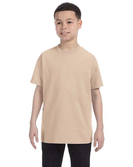 Gildan Youth  Heavy Cotton 5.3oz. T-Shirt - Sand