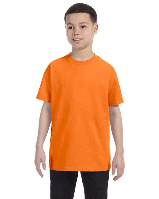 Gildan G500B - Heavy Cotton? Youth 5.3 oz. T-Shirt - Safety Orange - XL at Sears.com