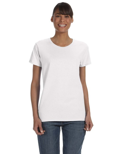 Gildan Ladies'   Heavy Cotton 5.3 oz. T-Shirt - White