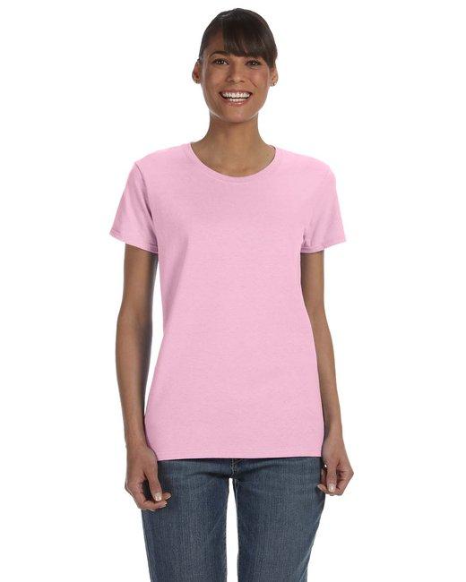 Gildan Ladies'   Heavy Cotton 5.3 oz. T-Shirt - Light Pink