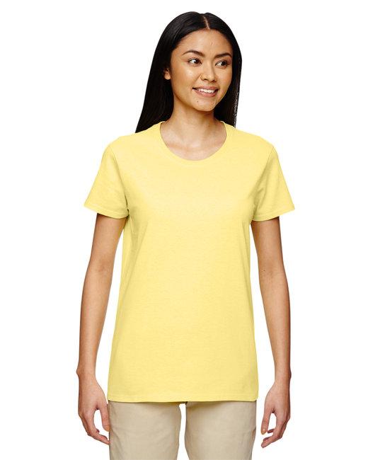 Gildan Ladies'   Heavy Cotton 5.3 oz. T-Shirt - Cornsilk
