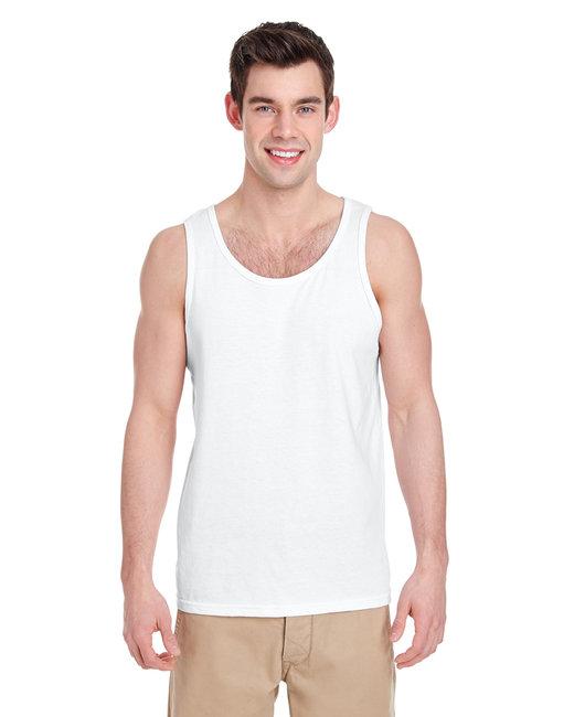 Gildan Adult  Heavy Cotton 5.3 oz. Tank - White