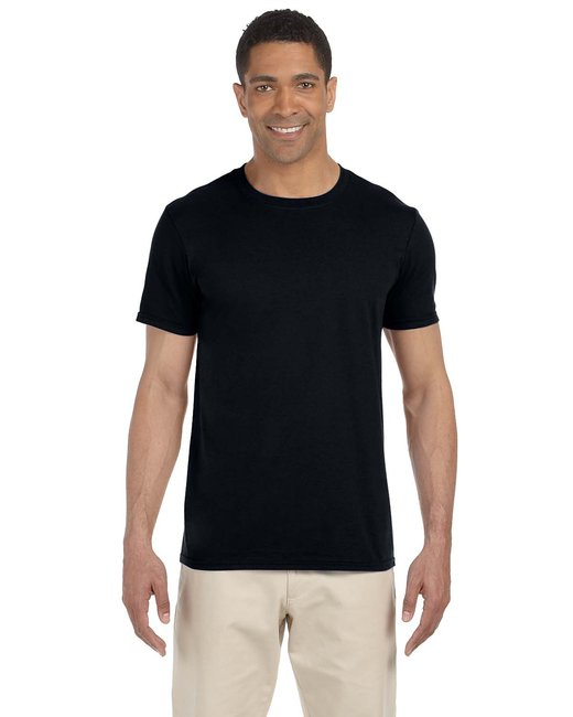 Gildan Adult Softstyle 4.5 oz. T-Shirt - Black