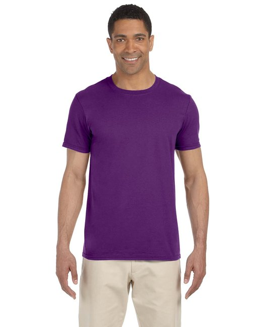 Gildan Adult Softstyle 4.5 oz. T-Shirt - Purple