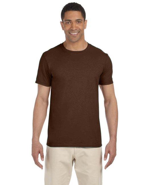 Gildan Adult Softstyle 4.5 oz. T-Shirt - Dark Chocolate