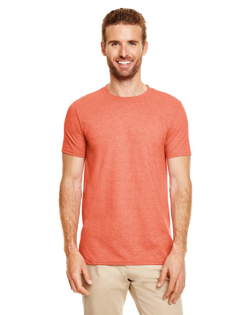 Gildan Adult Softstyle 4.5 oz. T-Shirt - Heather Orange