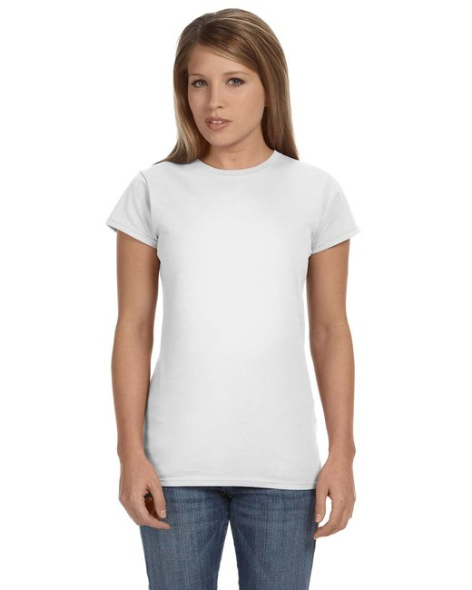 Gildan Ladies' Softstyle 4.5 oz. Fitted T-Shirt - White
