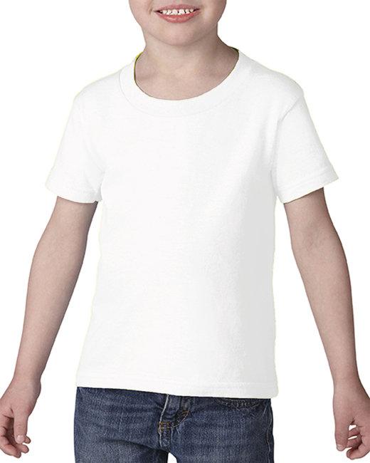 Gildan Toddler Softstyle 4.5 oz. T-Shirt - White