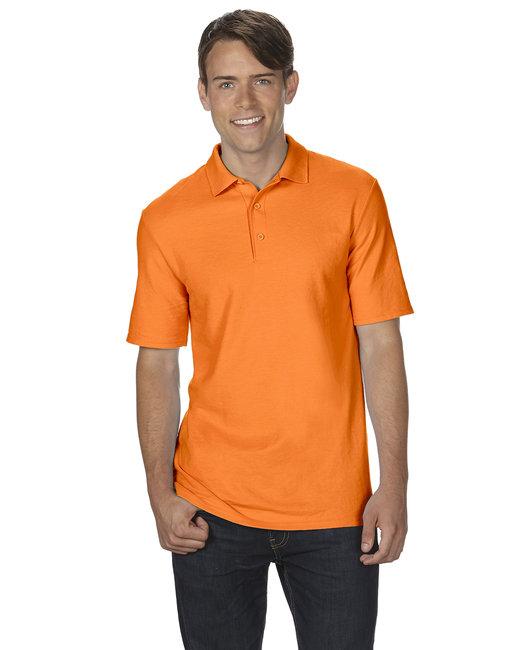 Gildan Adult 6 oz. Double Piqu Polo - S Orange