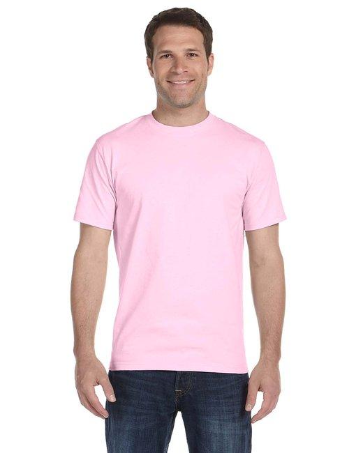 Gildan Adult 5.5 oz., 50/50 T-Shirt - Light Pink